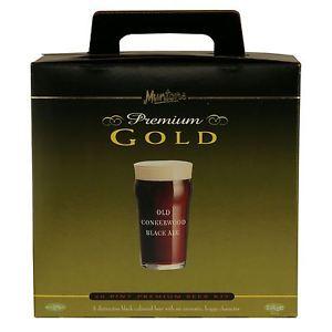 Muntons Old Conkerwood Black Ale (Premium) - 23 L