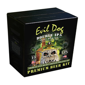 Evil Dog Double IPA - Bulldog Brews