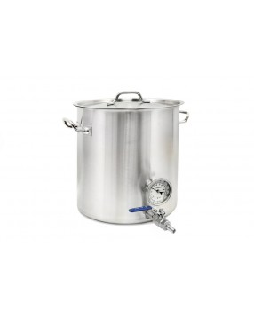 Kittel 32 liter med tappkran och termometer