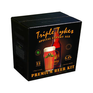 Triple Tykes Special Export Ale - Bulldog Brews