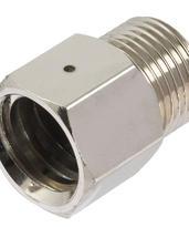 Trapetzadapter (typ 2.2) med säkerhetsventilhål för regulator till 425 g kolsyrepatron