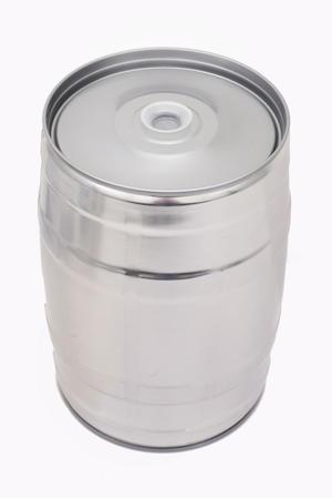 Partyfat 5 L Silver (inkl. gummipropp)