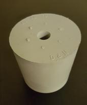 Gummipropp 49/41 mm, m hål