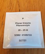 Pilsnerenzym till 25 liter