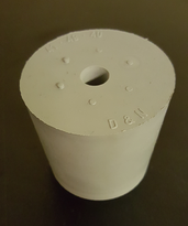 Gummipropp 18/14 mm, m hål