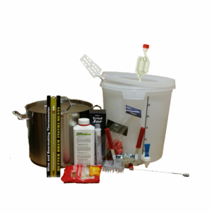 Utrustningspaket med Kittel (m tappkran) 20 L