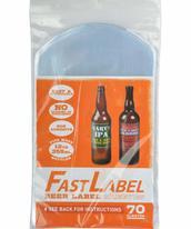 Etiketter - Fast Label 330 ml (70 st)
